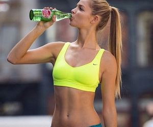 fitness, body, and water image