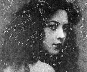 vintage, stars, and woman image