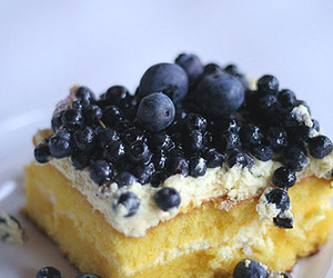 blueberries, cake, and blueberry image