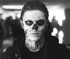 american horror story, evan peters, and tate image
