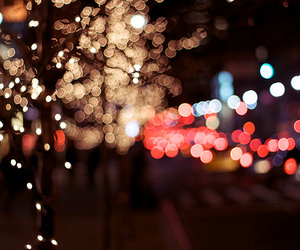 colorful, lights, and night image