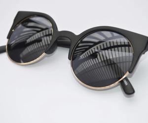 fashion, sunglasses, and black image