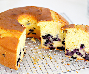 blueberry, cake, and food image