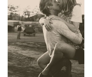 adorable, kiss, and loveher image