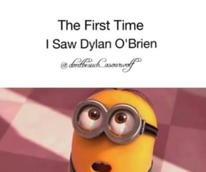 minion, dylan obrien, and love at sight image