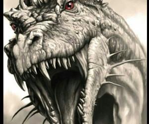 dragon and drawing image