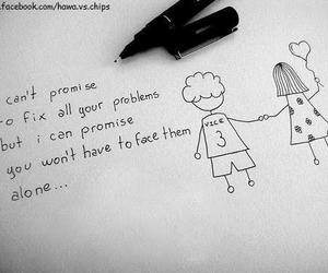 love, quotes, and problem image