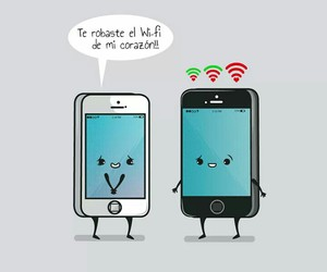 love and wifi image