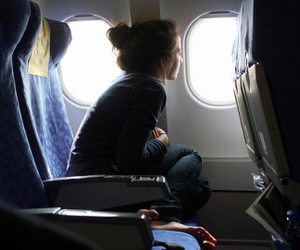 alone, fly, and girl image