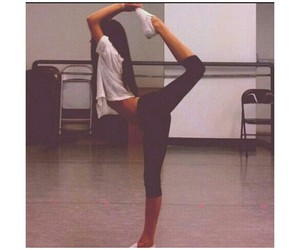 girl, dance, and fit image