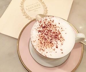coffee and laduree image