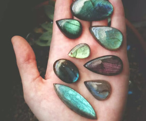 stone, nature, and green image