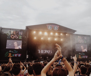 concert, festival, and the 1975 image