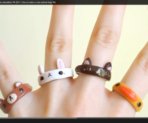 animals, cute, and ring image