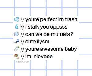 blue, grid, and emoji image