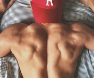 back, cap, and Hot image