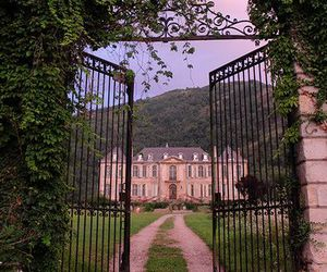 architecture, chateau, and gate image