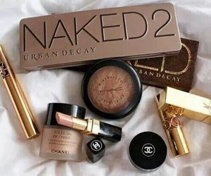 makeup, chanel, and naked image