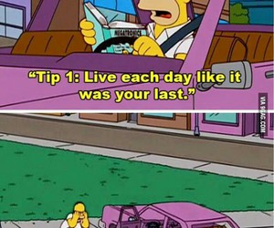 fun, the simpsons, and funny pictures image