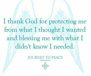 god, thankful, and protects image