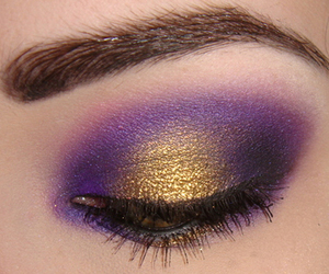 purple, make up, and makeup image
