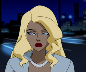 comics, dinah lance, and justice league unlimited image