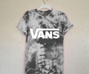 vans, fashion, and shirt image