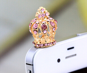 iphone, crown, and phone image