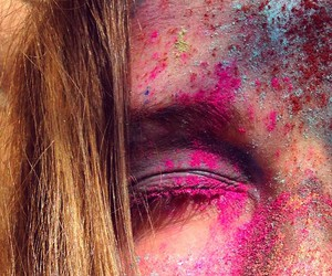 colors, happyness, and hippie image
