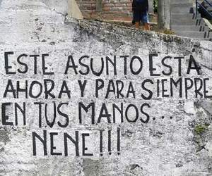 frases, manos, and mural image