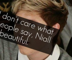 niall horan, soyoucoveredhisface, and one direction image