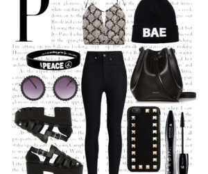 fashion, girls, and Polyvore image