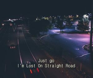 grunge, road, and sad image
