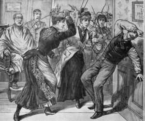 angry, punishment, and victorian image