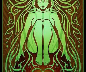 earth and goddess image