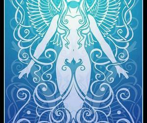 air, goddess, and air spirit image