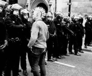 punk, police, and anarchy image