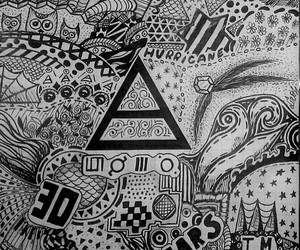 30 seconds to mars, sketch, and 30stm image