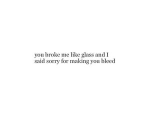 broken, glass, and heartbreak image