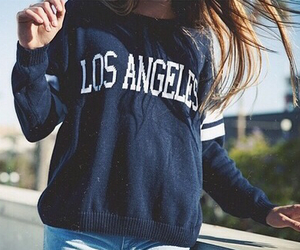 fashion, los angeles, and outfit image