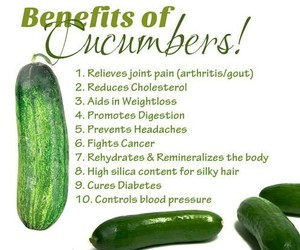 cucumber, health, and food image