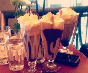 coffee, celebrating, and whitechocolate image