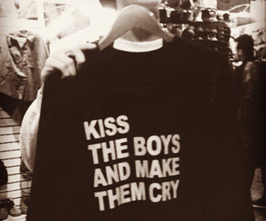 boy, kiss, and cry image