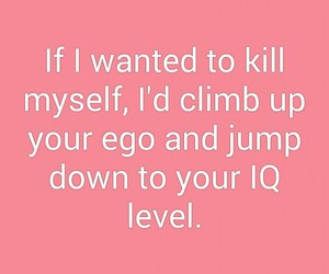 ego, funny, and lol image