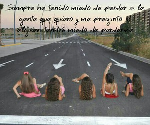 amigas, frases, and friends image