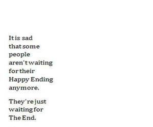 people, sad, and the end image