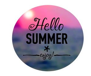 summer and hello summer image