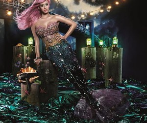 katy perry and mermaid image