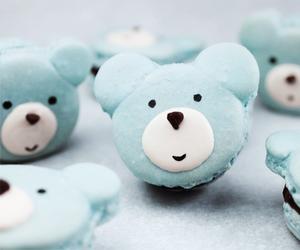 bear, food, and blue image