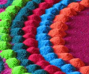 colourful and powder image